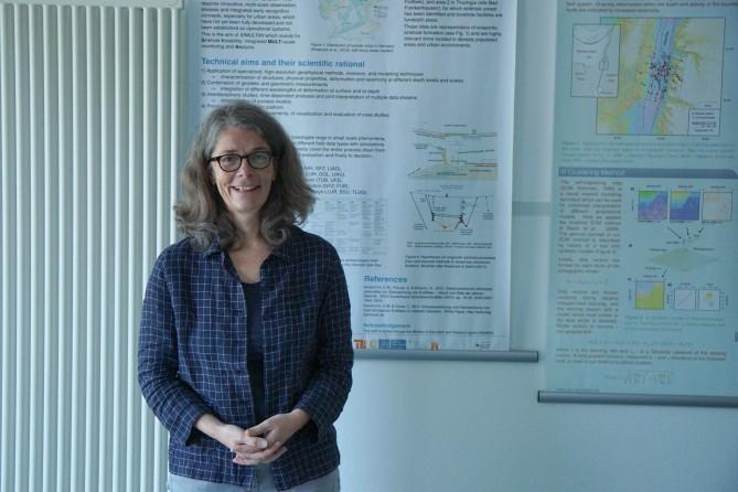 샤를로테 크라프치크 박사는 GFZ 지구물리학 부서의 책임자이자 SIMULTAN 공동 프로젝트의 코디네이터다. - 포츠담(독일)=김경환 기자 dalgudot@donga.com 제공